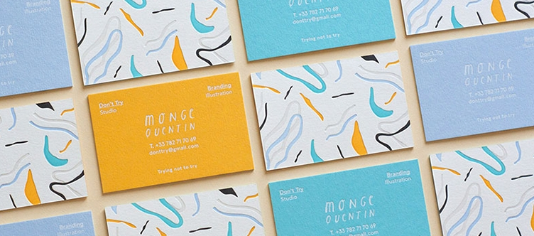 Cotton Business Cards
